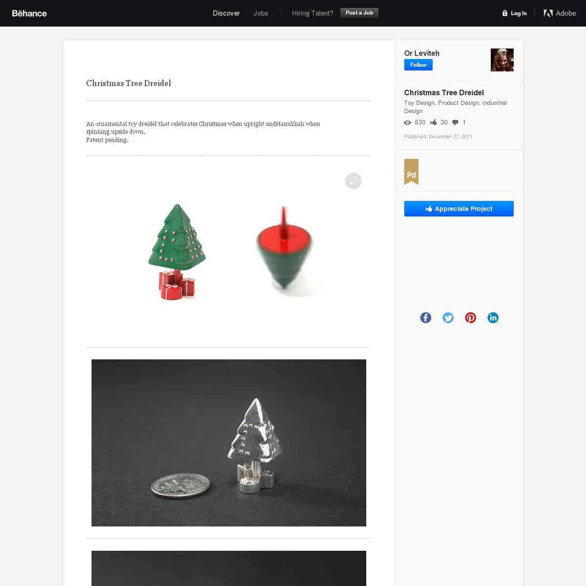 toydesignserved.com/gallery/Christmas-Tree-Dreidel/2748167