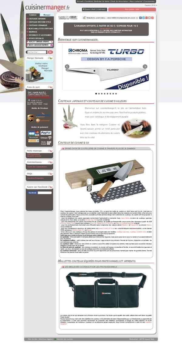 Vente de couteaux de cuisine japonais, thermos, lunchbox et bento - CuisinerManger