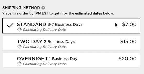 Use 'Delivery Date' Not 'Shipping Speed' – From UX Research to Implementation Roadmap - Articles …