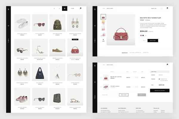 $ Skiboo. Modern & Minimal eCommerce PSD Template