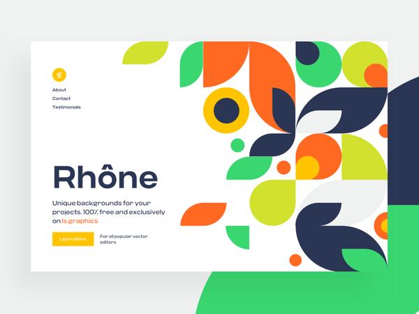 Rhône Pattern