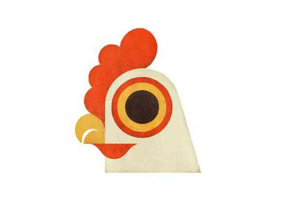 Dramatic Hen