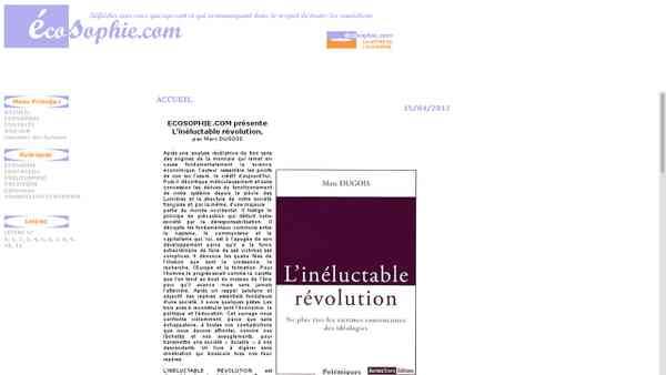 écosophie.com : Economie, Education, Philosophie, Politique