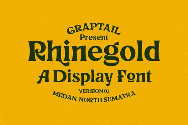 Rhinegold Font