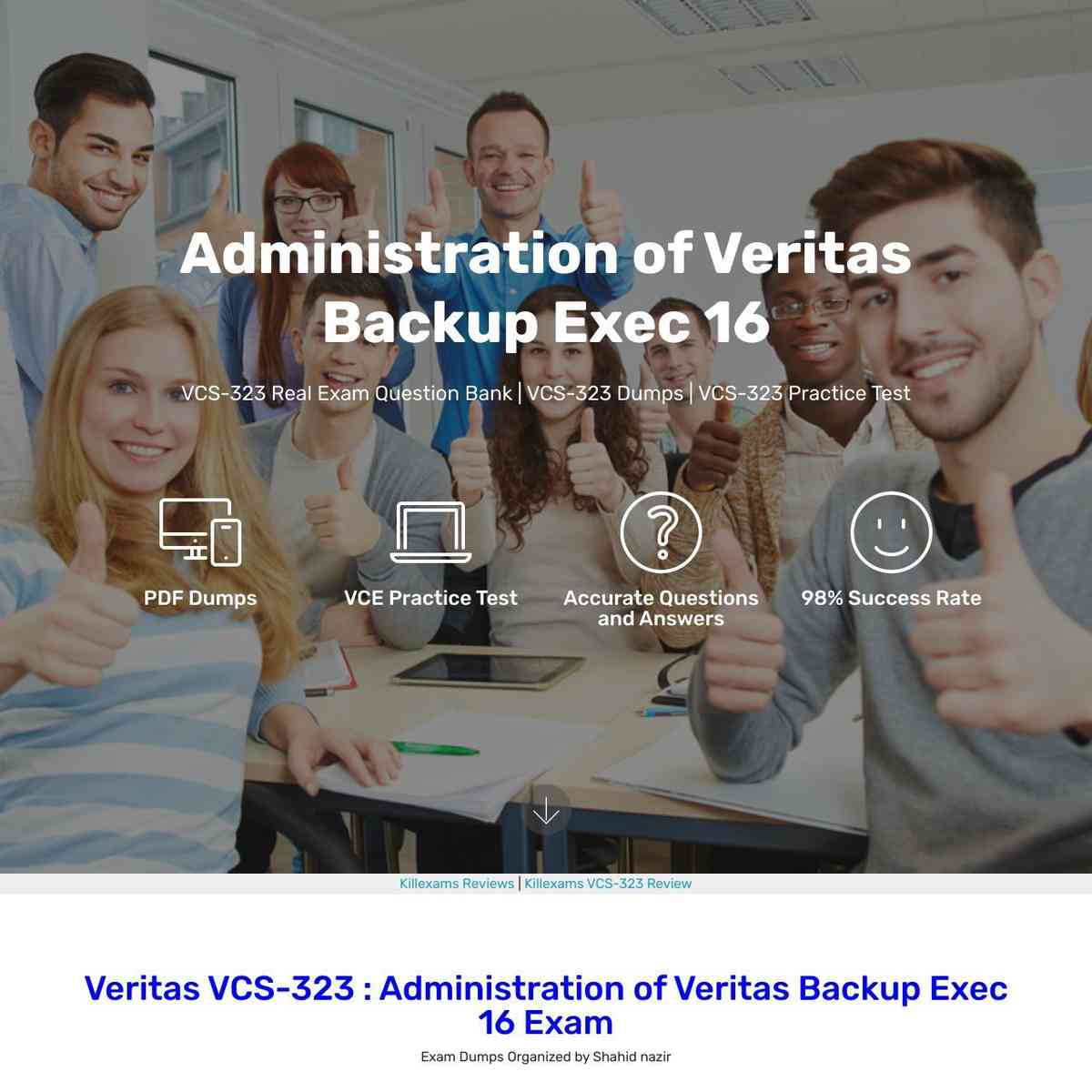 Download Free pass4sure VCS-323 exam dumps and Test Prep