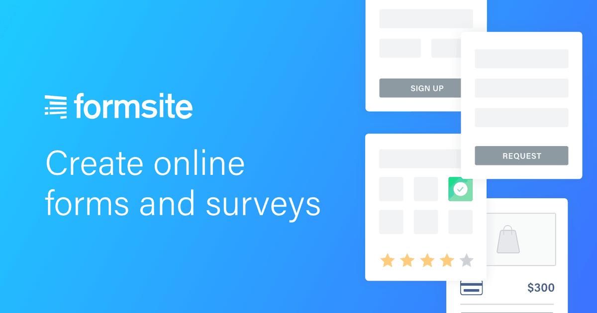 Form Features | Formsite.com