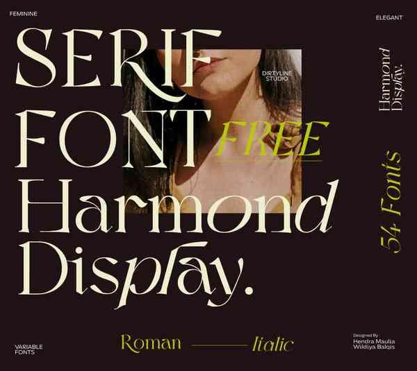 Harmond Serif