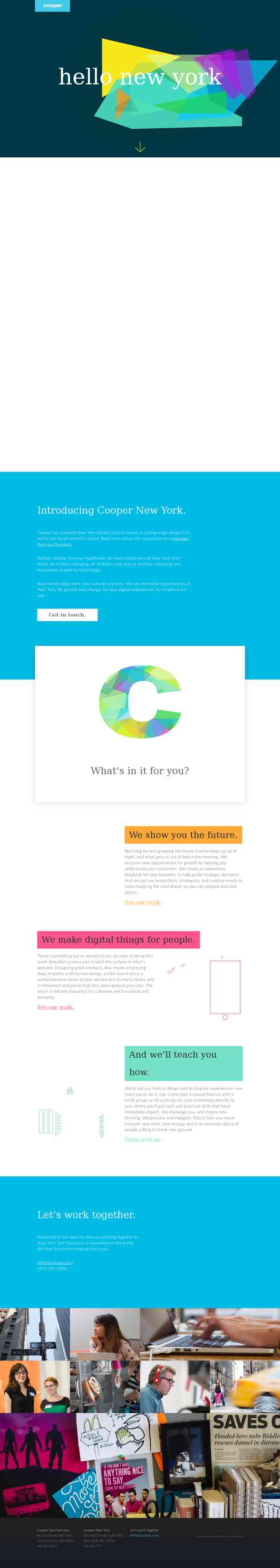 Cooper | A user experience design and strategy firm