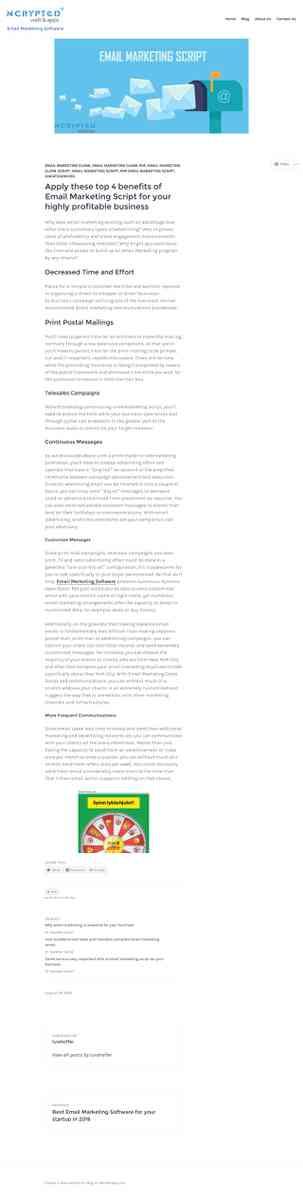 emailmarketingclonescript.wordpress.com/2016/08/24/apply-these-top-4-benefits-of-email-marketing-sc…