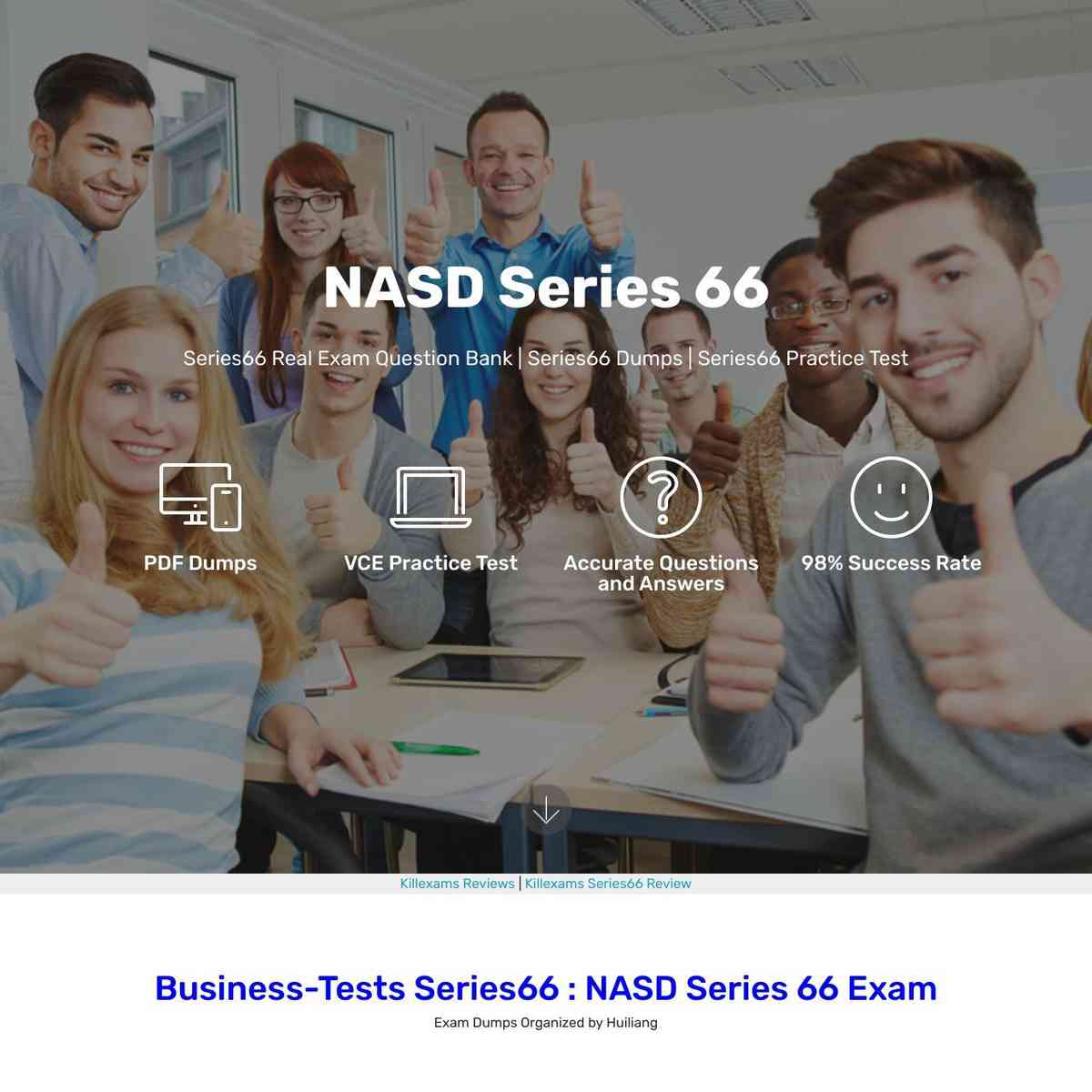 Memorizing these Series66 PDF Download is sufficient to pass the exam.