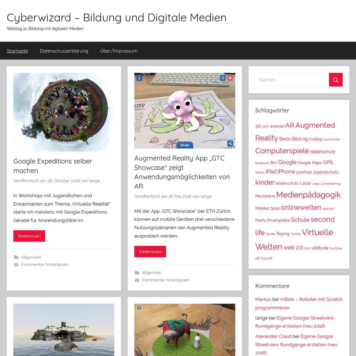 Cyberwizard – Bildung und Digitale Medien – Weblog zu Bildung mit digitalen Medien