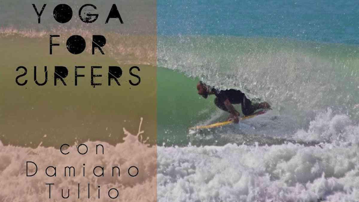 Yoga 4 Surfers con Damiano Tullio e Pettirosso Surf School