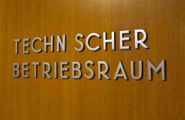metal sign lettering at the Haus der Kulturen der Welt | Flickr