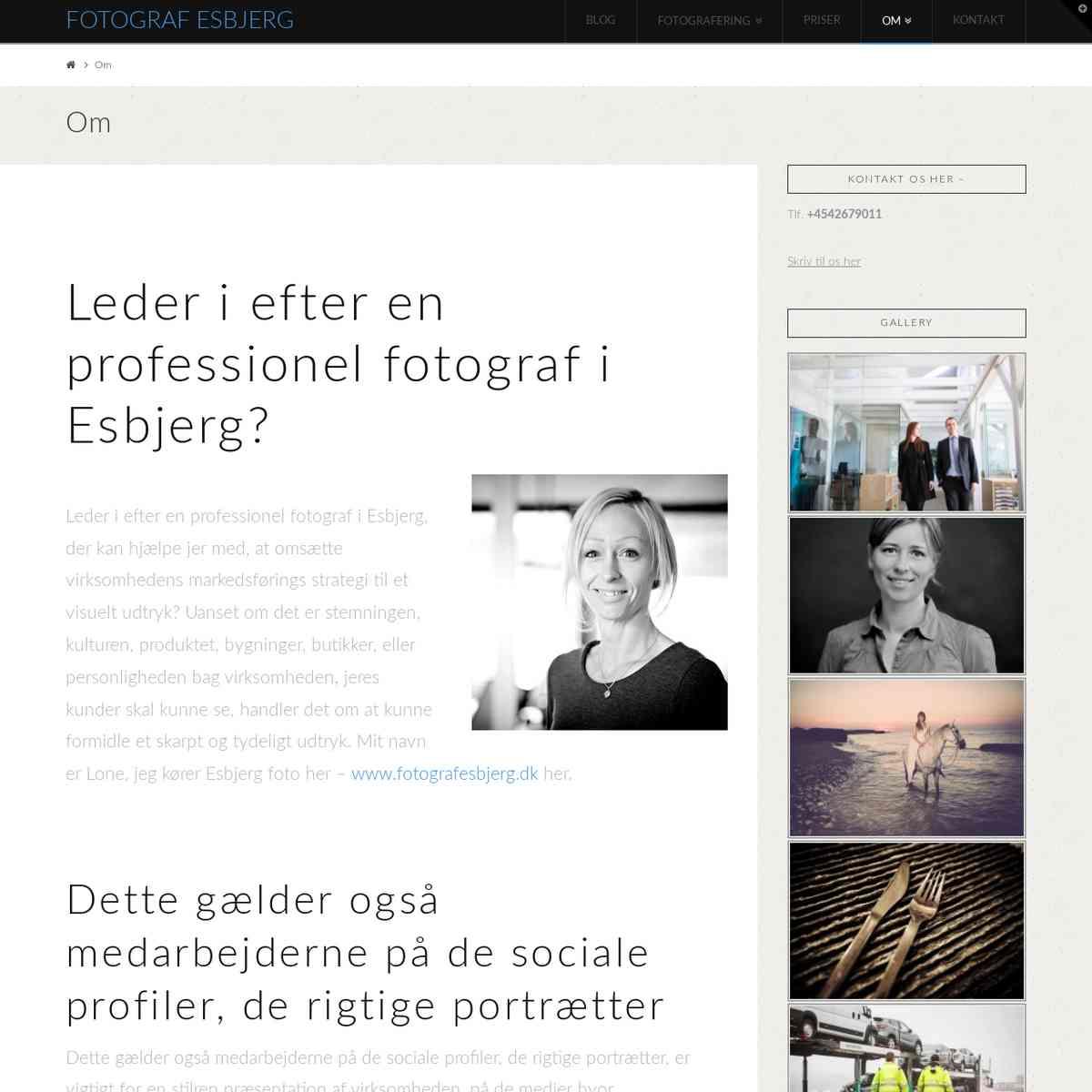 Om fotografen