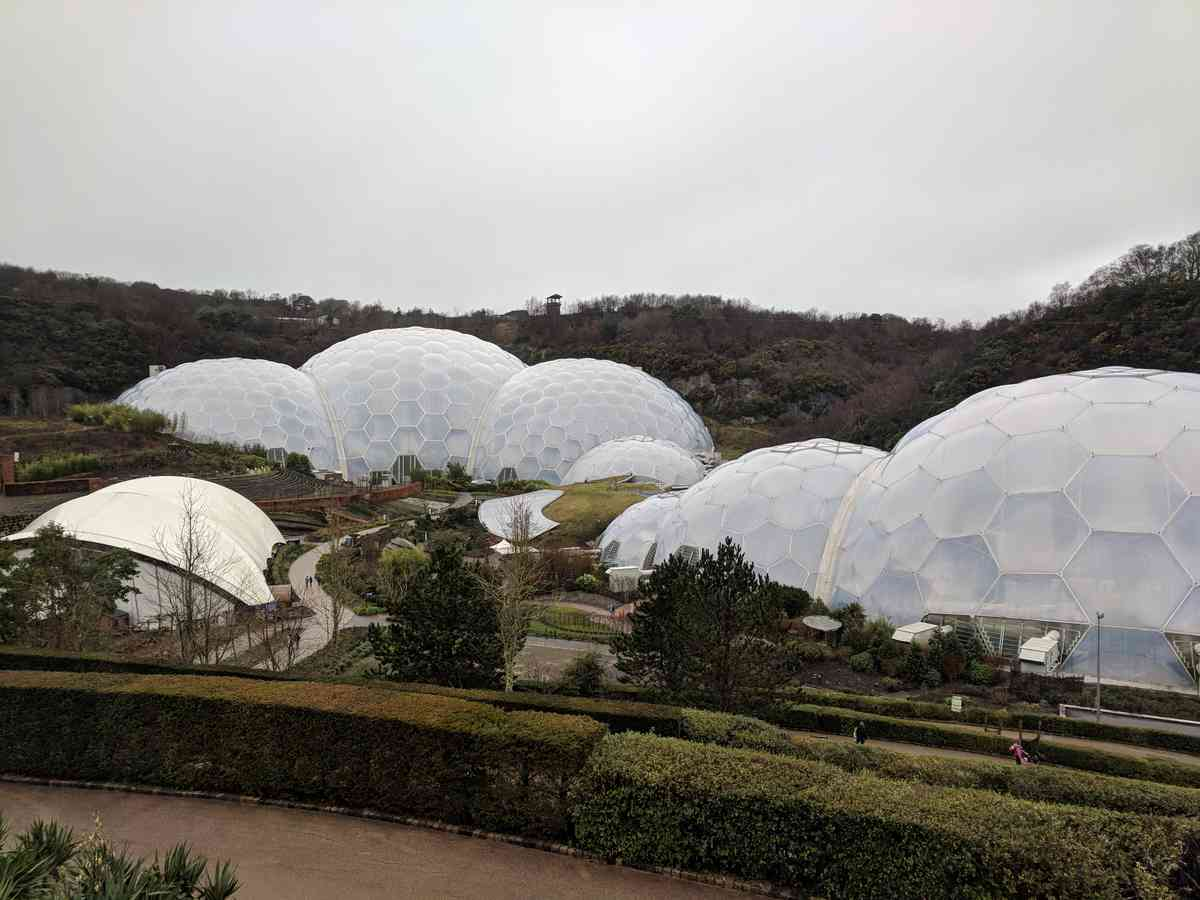 2. Eden Project and Looe