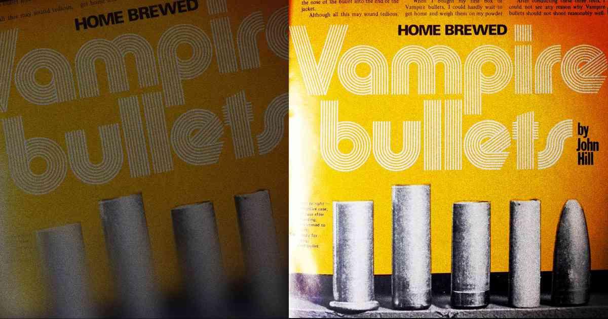 Home Brewed, Vampire Bullets. - Garth Jones - Medium