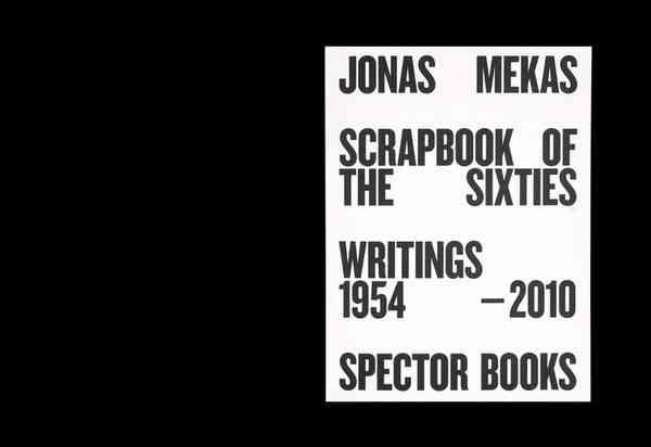 Jonas Mekas: Scrapbook of the Sixties - Fonts In Use