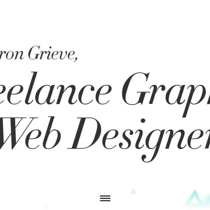 Web Design by Aaron Grieve in Kent