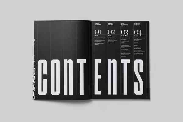 UC Annual Report | Table of contents