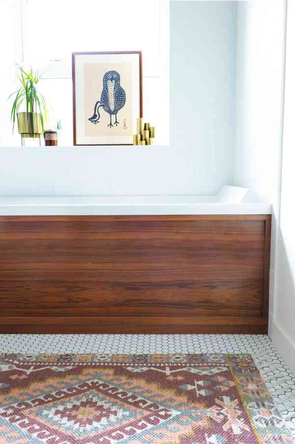 east 2nd rockstar - Midcentury - Bathroom - Vancouver - by mango design co
