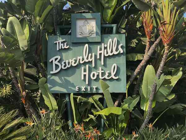 Beverly Hills Hotel, Elmer Grey 1912; Paul R. Williams (additions) 1949