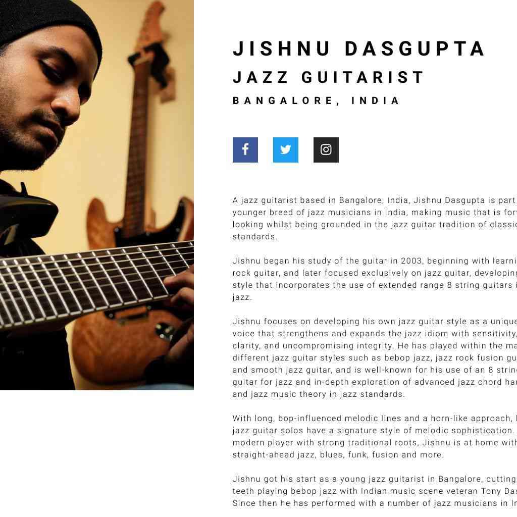 JISHNU DASGUPTA WEBSITE