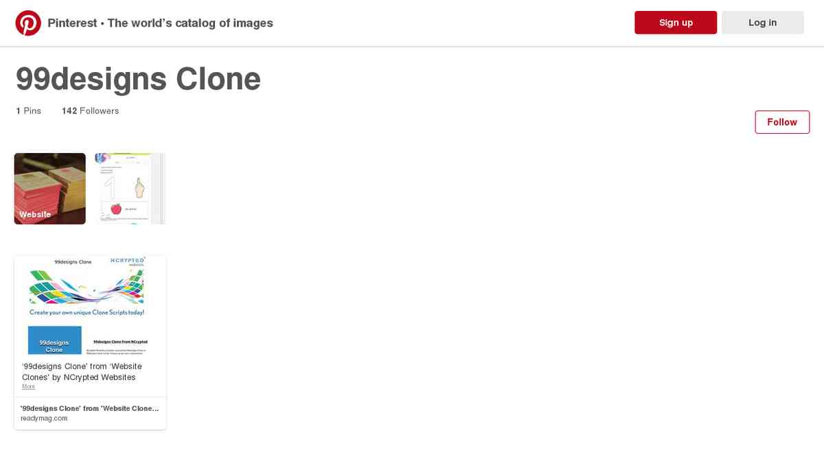 pinterest.com/websiteclone/99designs-clone/