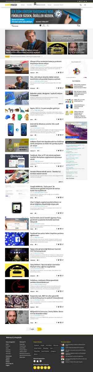 Webrazzi - Teknoloji, Web Girişimleri, Online Pazarlama