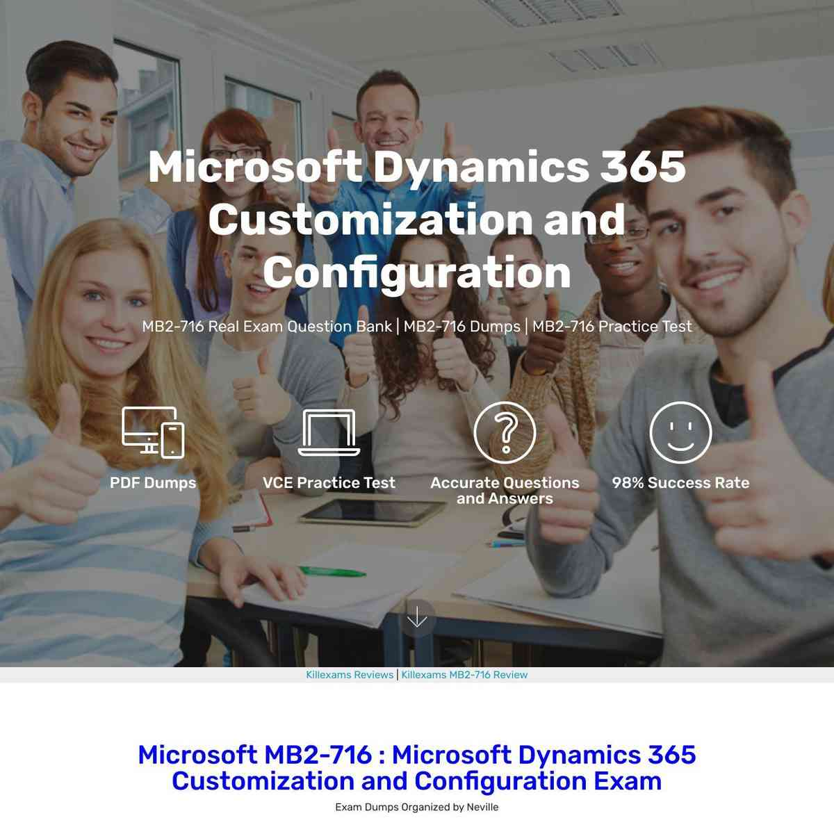 Pass MB2-716 exam at first attempt with these real questions and Latest Topics