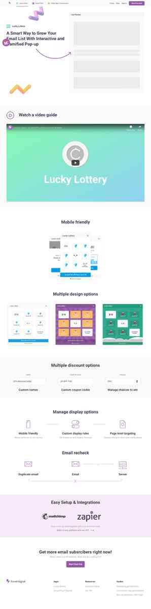 hoversignal com/apps/lucky-lottery - Mkt & Publishing KaraOkulta
