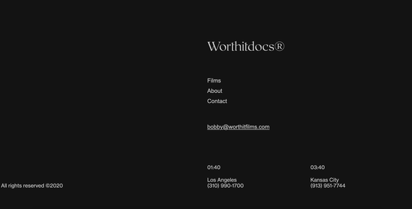 Worth it Docs Footer