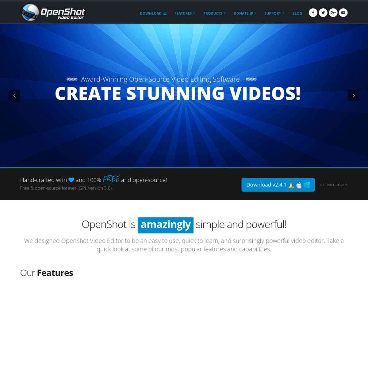 OpenShot Video Editor | Free, Open, and Award-Winning Video Editor for Linux, Mac, and Windows!