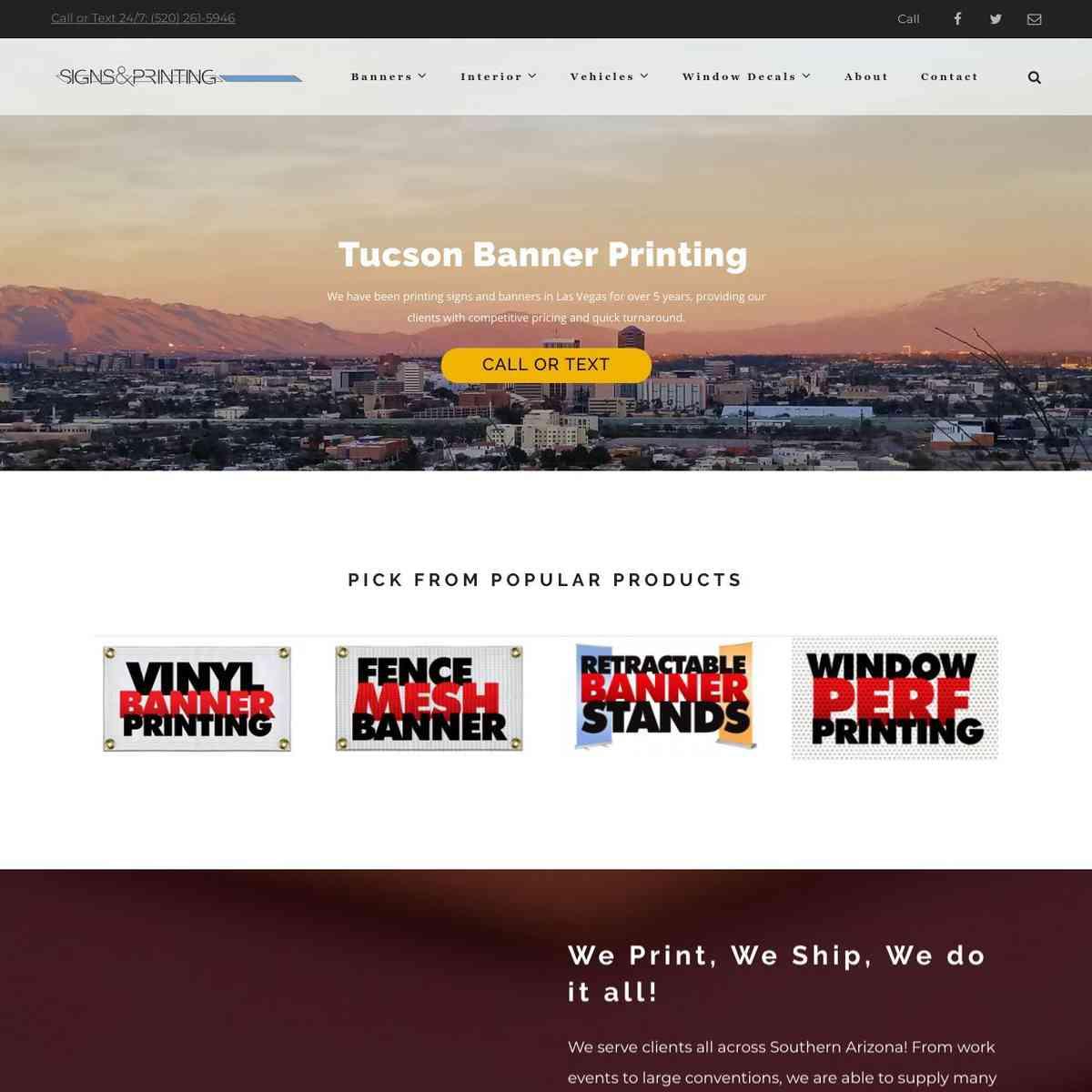 Tucson Banner Printing