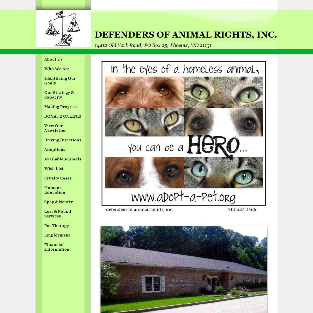 Defenders of Animal Rights, Inc (MD)