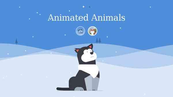 Github Fox and Hound - Cute Animated Animals