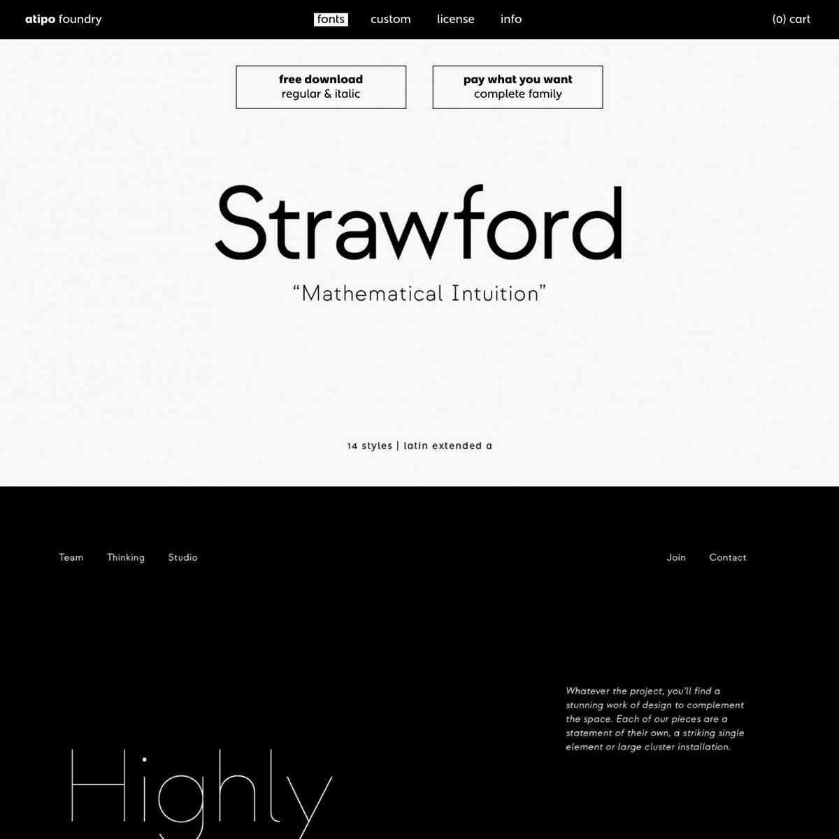strawford   atipo foundry