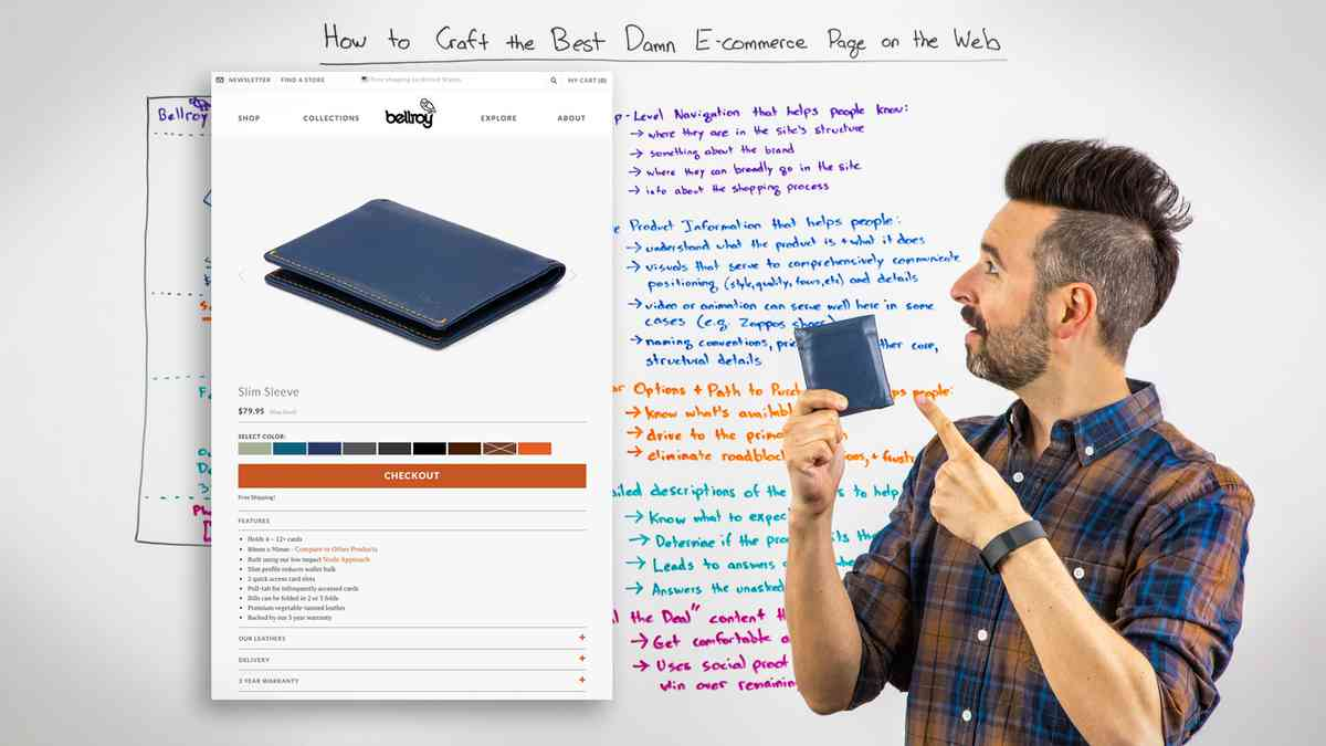 How to Craft the Best Damn E-commerce Page on the Web - Whiteboard Friday - Moz