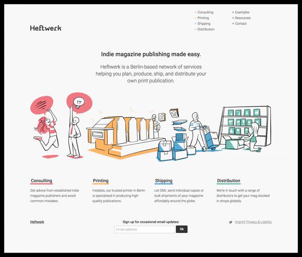 Heftwerk – Indie Magazine Publishing Made Easy