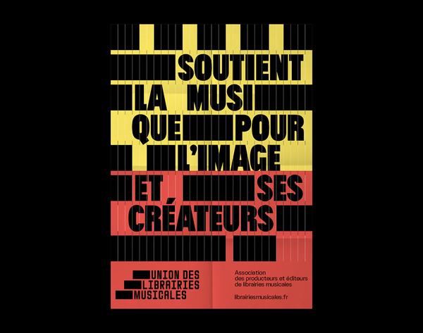 Union des Librairies Musicales | Poster