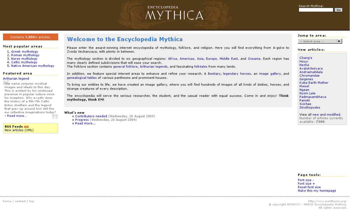 resource - Encyclopedia Mythica