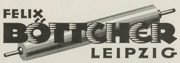 Felix Böttcher printing rolls