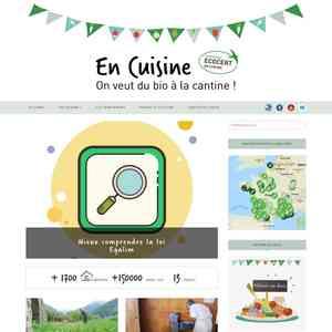"""Le label ECOCERT """"En Cuisine"""""""