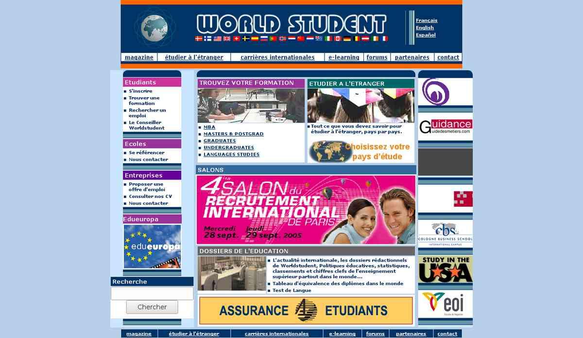 world student (nouvelle fenêtre)