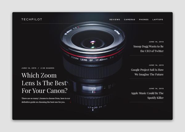 TechPilot Homepage