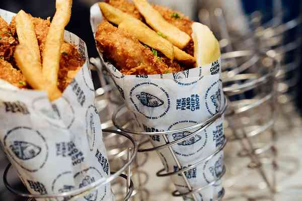 The Fish And Chips Shop | Wraps