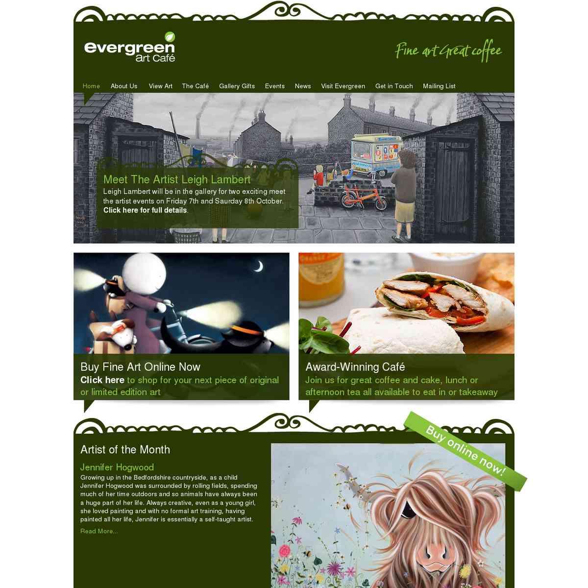 Inspiration - Evergreen Art Cafe