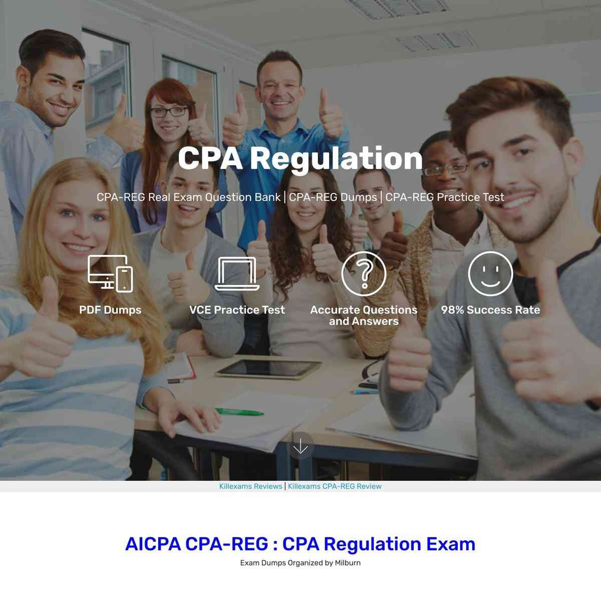 Free Actual Questions of CPA-REG exam direct download link