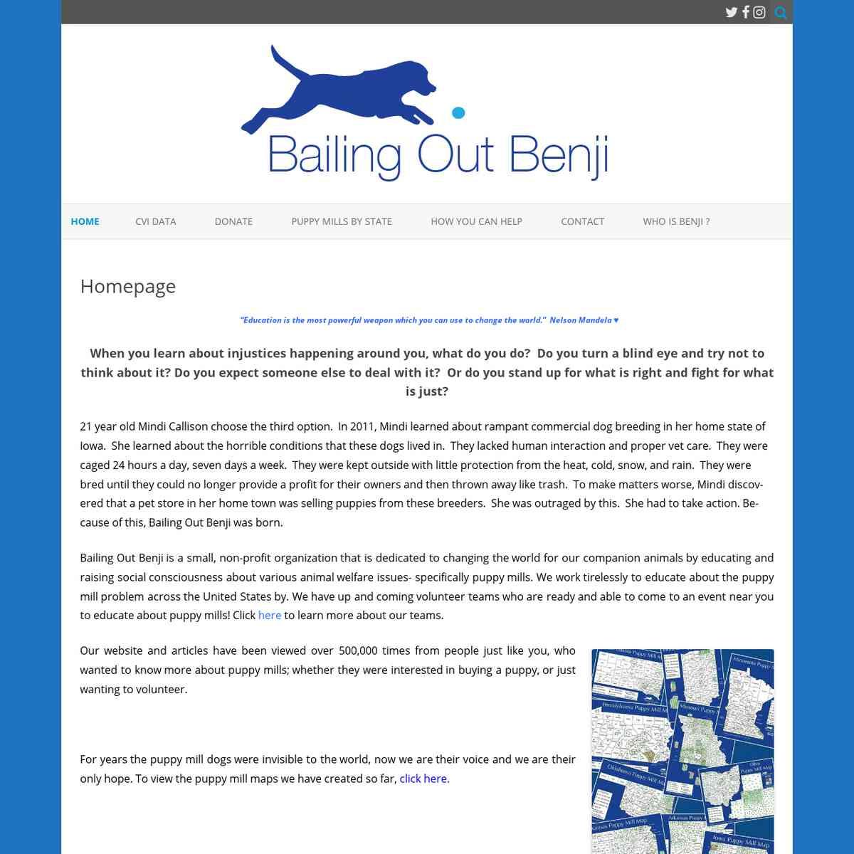 Bailing Out Benji