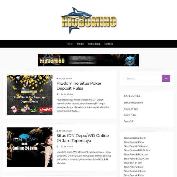 Situs Poker Online 24 Jam Hiudomino Situs Poker Online 24 Jam