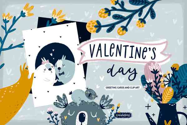 Valentines Day Clipart & Cards